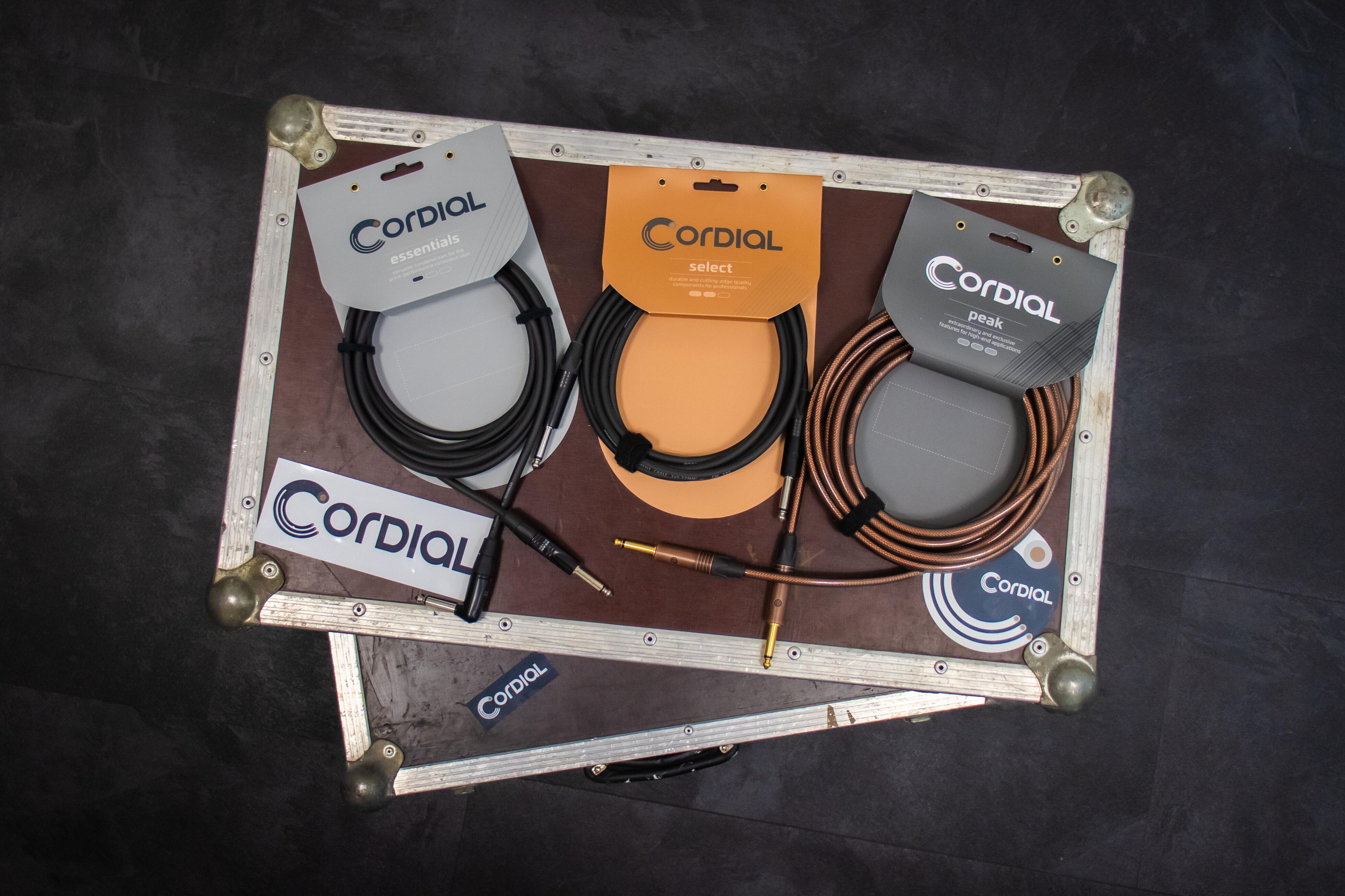 Patchkabel 3,5mm Mono-Klinke CORDIAL CPI 1,2 ZZ